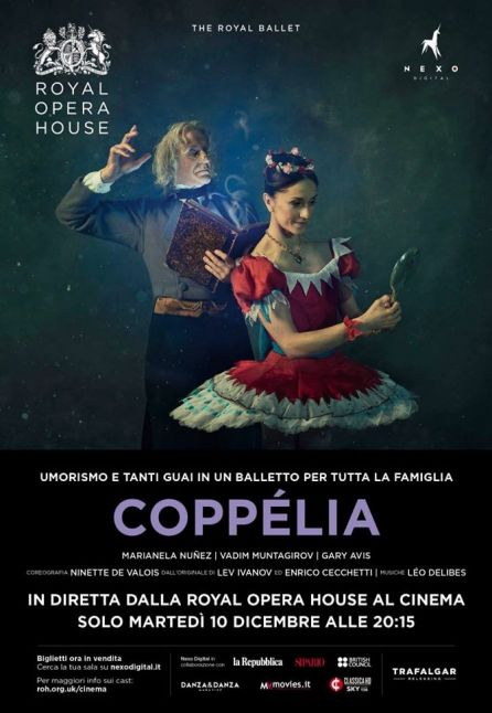 COPPELIA - DAL ROYAL OPERA HOUSE 2019/2020